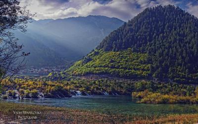 Jiuzhaigou #25 Jiuzhaigou Цзючжайгоу долина-9_деревень Jiuzhai_valley China Китай vakomin