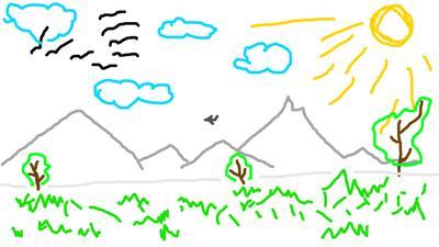 пейзаж пейзаж