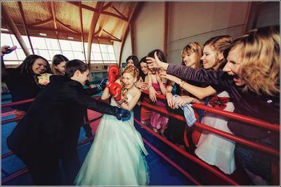На ринге lm-photo.ru свадьба жених невеста Миронов Леликова фотограф свадебный wedding