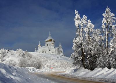 *** Белогорский монастырь зима