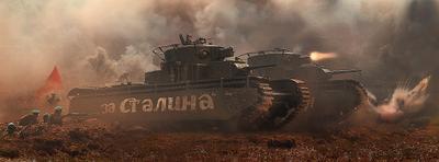 За Родину! Т-35 за родину война танк атака