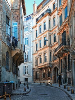 Улочки Стамбула.