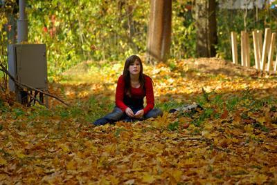 счастливая пора, очей очарованье... осень солнце листья