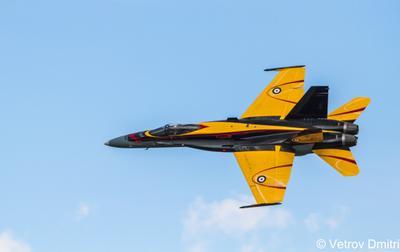 F-18 DEMO plane airshow