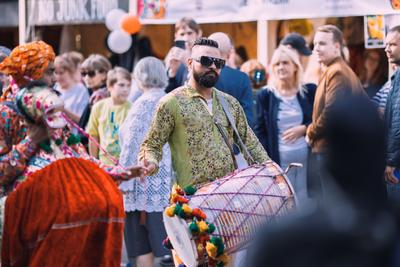 С фестиваля индийской культуры