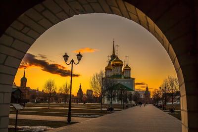 Тула. Большая Кремлевская улица.
