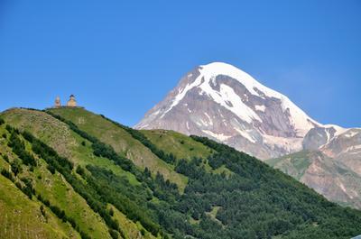 Красота Казбека Казбек горы Кавказ Грузия Россия красота