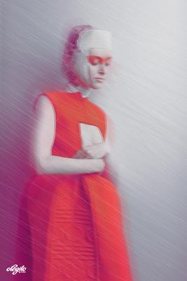 """""""La silhouette rouge"""" moda, мода"""