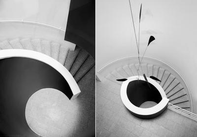 Staircase in CCB. stairs, staircase, twirl, architecture