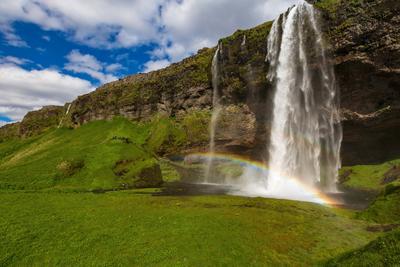 Водопады Исландии Iceland