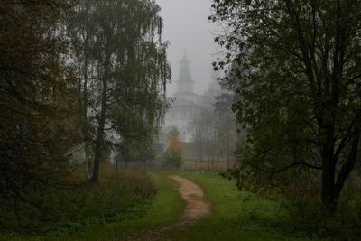 утро в монастыре утро монастырь