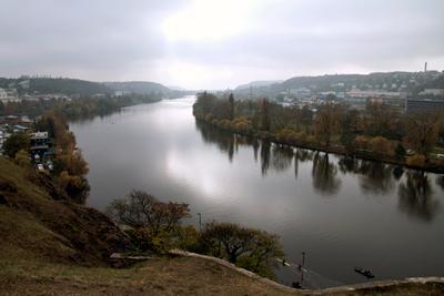 Прага, река Влтава