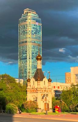 Вечерний Екатеринбург. Контрасты