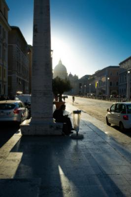 вечерело Рим Италия каникулы Rome Italy forever