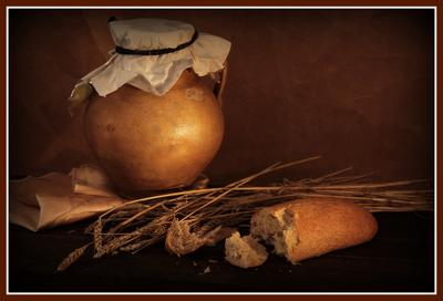 ***Натюрморт с хлебом