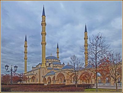 «Сердце Чечни» [1] Чечня Грозный мечеть