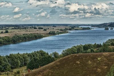 Река Ока. Волконский перекат.