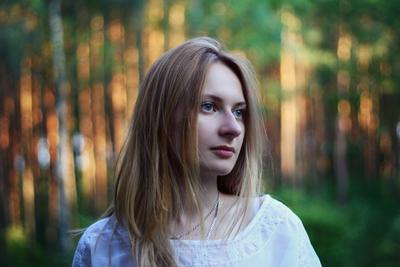 Оксана портрет девушка природа