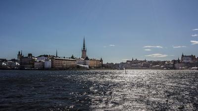 Стокгольм стокгольм швеция вода красивый вид
