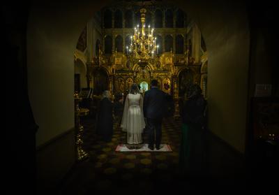 В начале пути.... Семья венчание жизнь Вера