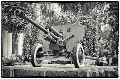 *** пушка памятник история