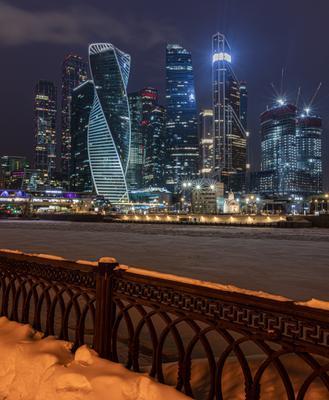 Зимний Москва-Сити