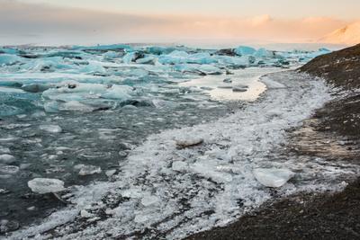 *** исландия лед ледник голубой льдины