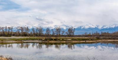 Киргизия. Тянь Шань. Панорама киргизия горы водоем пейзаж панорама