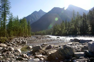 Река Шумак Восточный Саян, Шумак