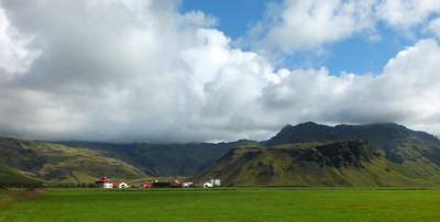 Суровая стихия Исландии - вид 2 Исландия вулкан