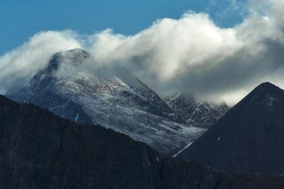 *** Урал облака горы