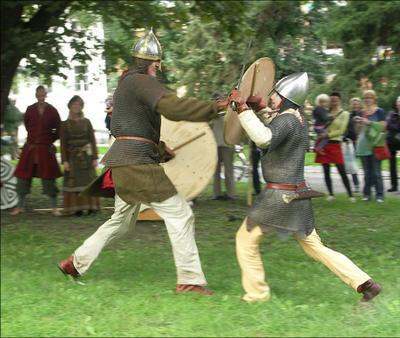 Голиаф разозлился викинги holmgång
