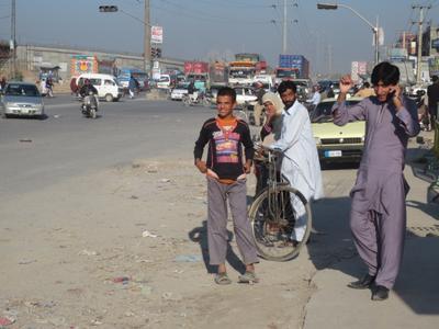 На улице в Исламабаде