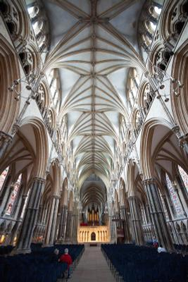 Lincoln cathedral, England Alpha, A900, 16-35