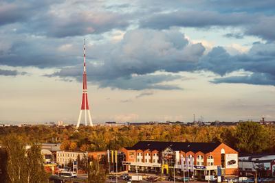 В городе осень... Рига