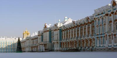 Екатерининский дворец, северный фасад Екатерининский дворец