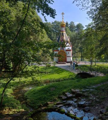 Село Талеж, св. источник. монастырь мужской Давидова пустынь подворье Талеж источник часовня