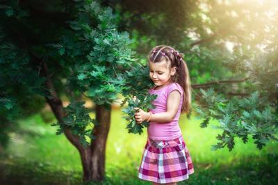 Unity with nature дети лето