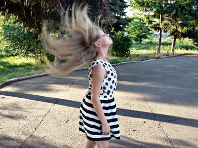 *** волосы девушка