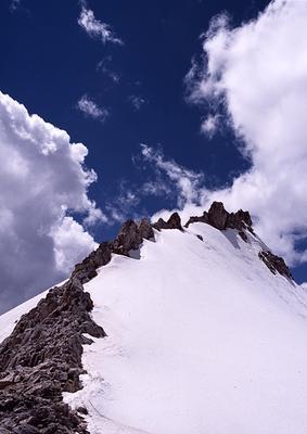 на перевале кавказ