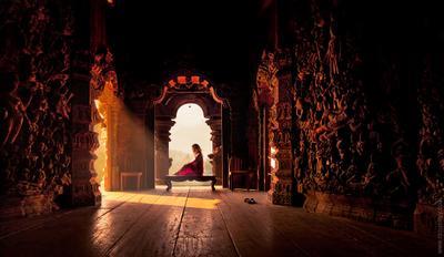 В храме истины. Храм истины,тайланд,закат,ปราสาทสัจธรรม