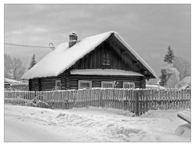 Зима в Простоквашино Каргополь
