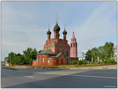 Ярославль. Церковь Богоявления Господня Ярославль   Церковь Богоявления Господня