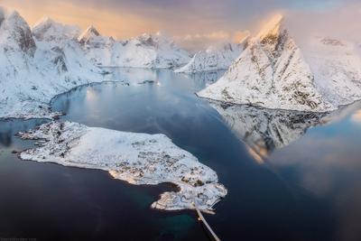 *** Хрустальные горы *** Лофотены Норвегия