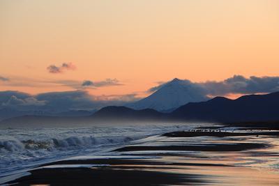 На краю земли Камчатка, Тихий океан