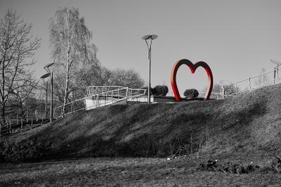 Смотровая площадка для влюбленных