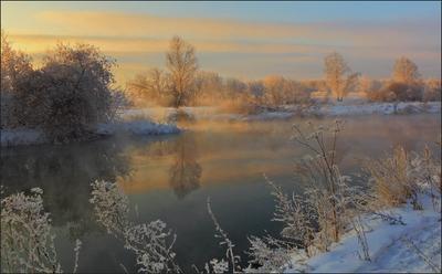 на речке провожая день Южный Урал
