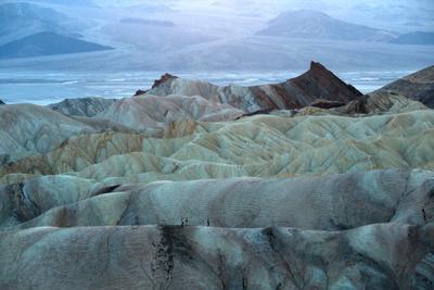 *** USA California Death Valley Zabriskie Point