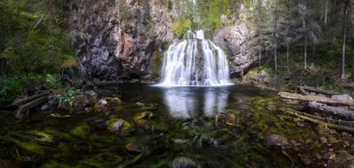 Жемчужина Мянтюйоки мянтюкоски мянтюйоки паанаярви водопад карелия полярный