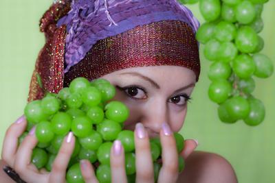 Виноград виноград зелёный глаза